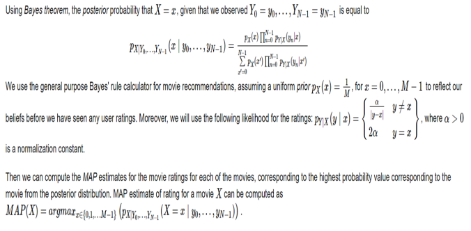 Movie Recommendation with Bayesian | sandipanweb