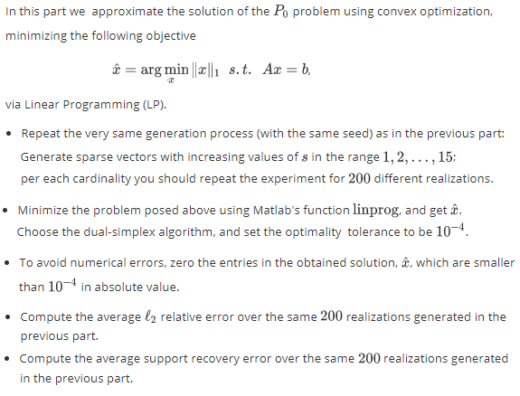 Some Optimization: Implementing the Orthogonal Matching