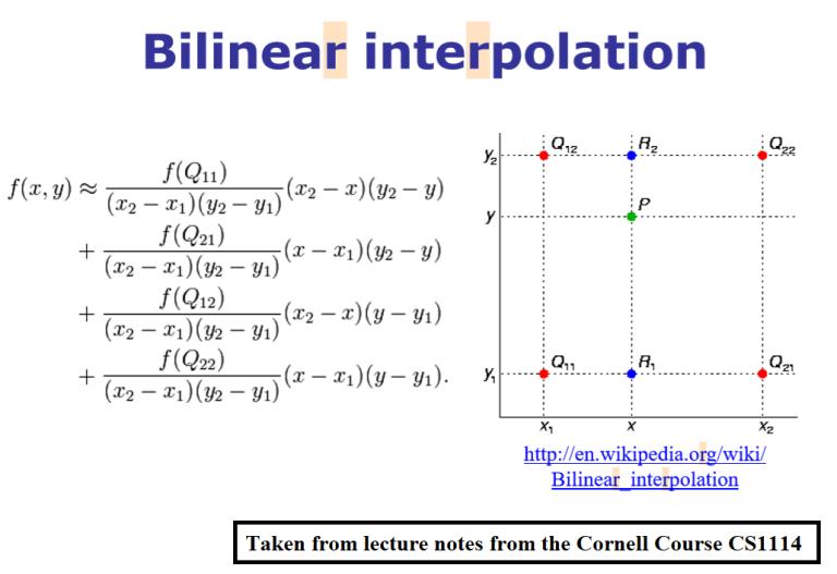 Recursive Graphics, Bi/Tri-linear Interpolation, Anti